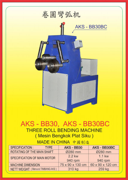 AKS - BB30, AKS - BB30BC