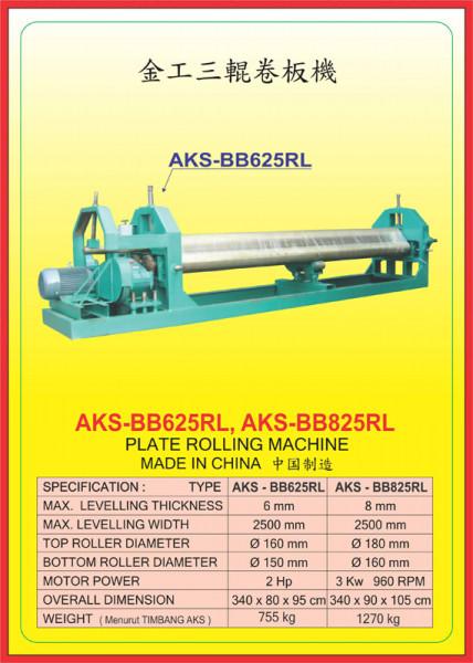 AKS - BB625RL, AKS - BB825RL