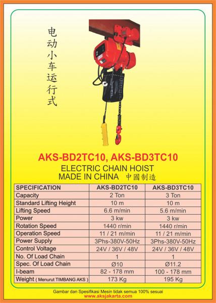 AKS - BD2TC10, AKS - BD3TC10