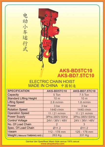 AKS - BD5TC10, AKS - BD7.5TC10