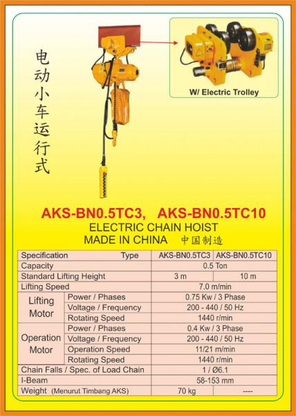 AKS - BN0.5TC3, AKS - BN0.5TC10