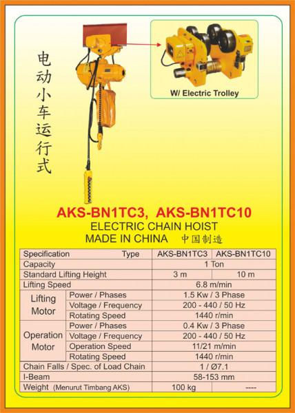AKS - BN1TC3, AKS - BN1TC10