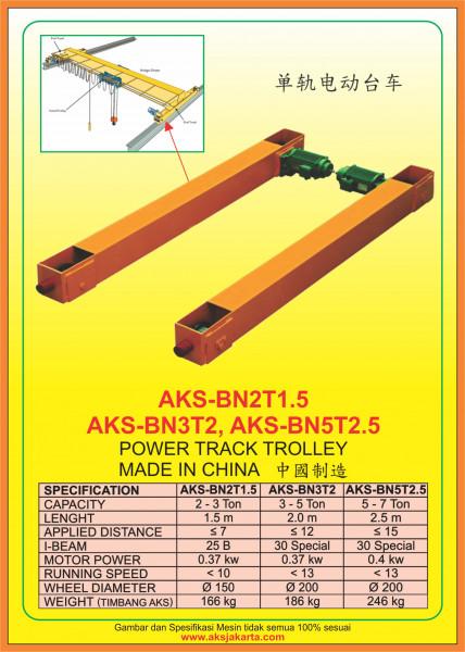 AKS - BN2T1.5, AKS - BN3T2, AKS - BN5T2.5