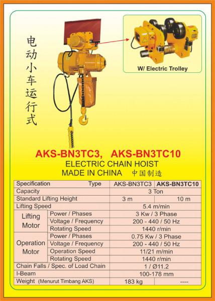 AKS - BN3TC3, AKS - BN3TC10