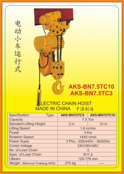 AKS - BN7.5TC3, AKS - BN7.5TC10