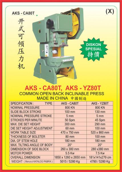 AKS - CA80T, AKS - YZ80T