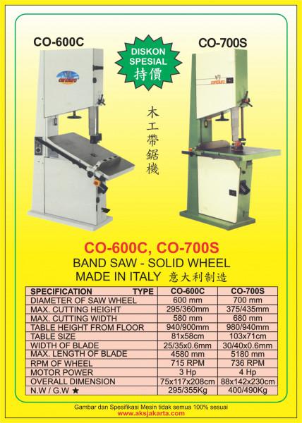 AKS - CO600C, AKS - CO700S