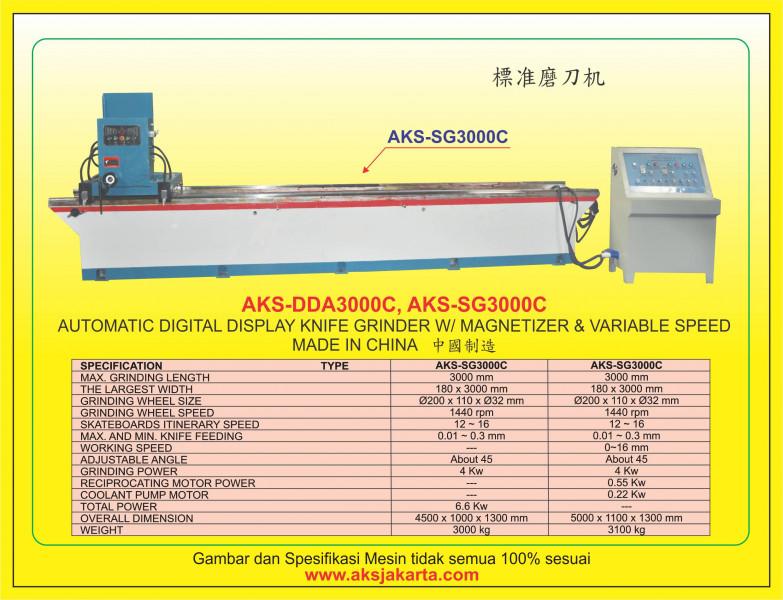 AKS - DDA3000C, AKS - SG3000C