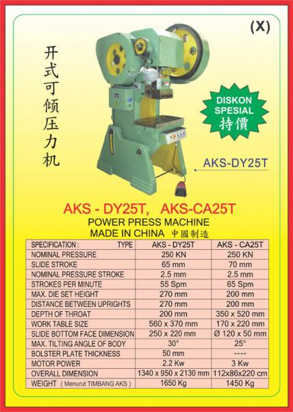 AKS - DY25T, AKS - CA25T