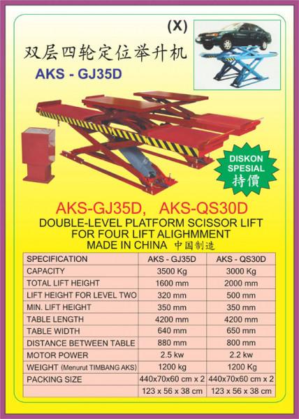 AKS - GJ35D, AKS - QS30D