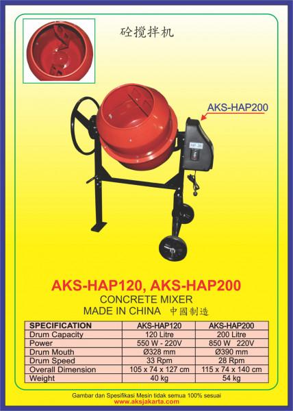 AKS - HAP120, AKS - HAP200