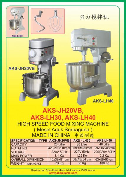 AKS - JH20VB, AKS - LH30, AKS - LH40