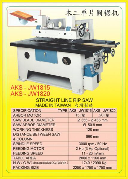AKS - JW1815, AKS - JW1820