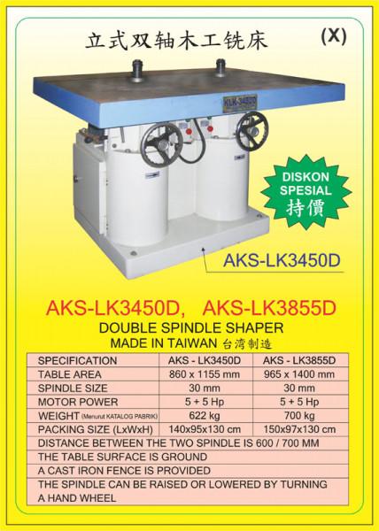 AKS - LK3450D, AKS - LK3855D