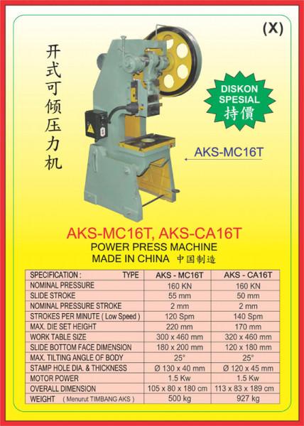 AKS - MC16T, AKS - CA16T