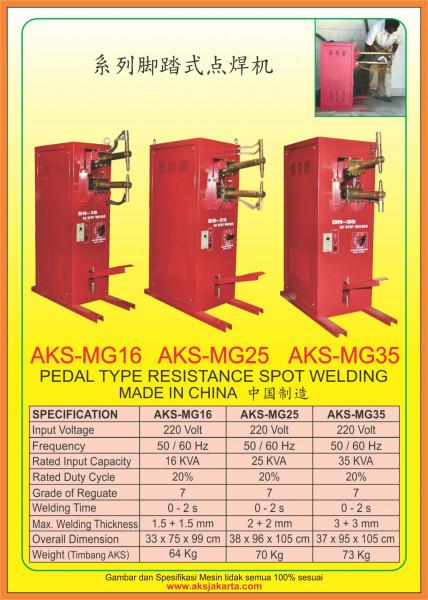 AKS - MG16, AKS - MG25, AKS - MG35