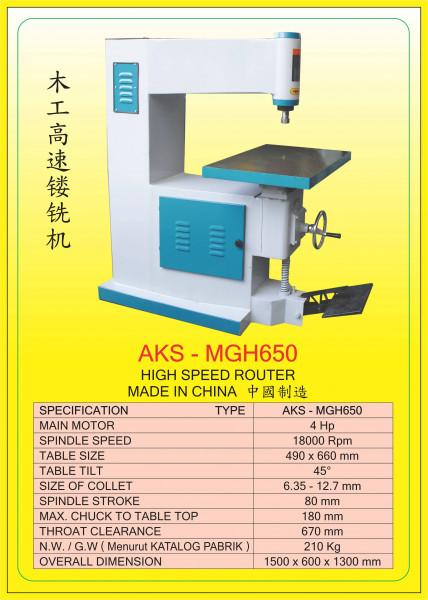 AKS - MGH650