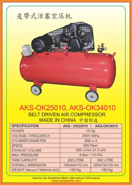 AKS - OK25010, AKS - OK34010