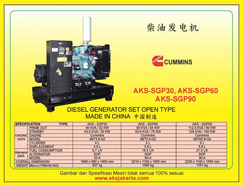 AKS-SGP30, AKS-SGP60, AKS-SGP90