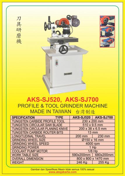 AKS - SJ520, AKS - SJ700