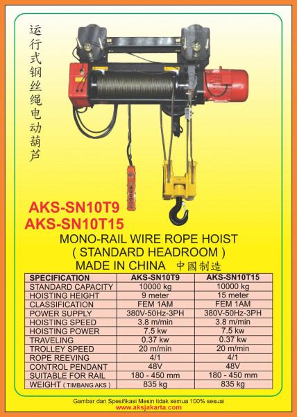 AKS - SN10T9, AKS - SN10T15