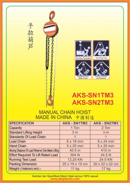 AKS - SN1TM3, AKS - SN2TM3