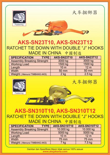 AKS - SN23T10, AKS - SN23T12, AKS - SN310T10, AKS - SN310T12