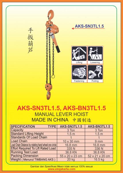 AKS - SN3TL1.5, AKS - BN3TL1.5,