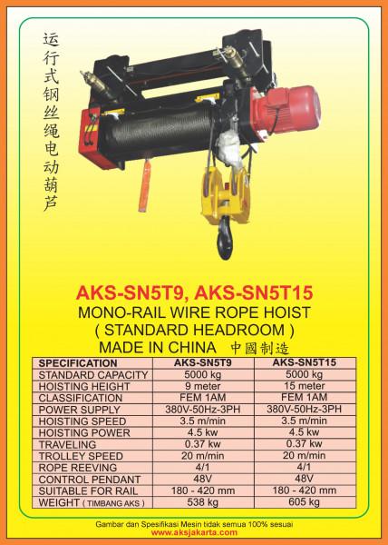 AKS - SN5T9, AKS - SN5T15