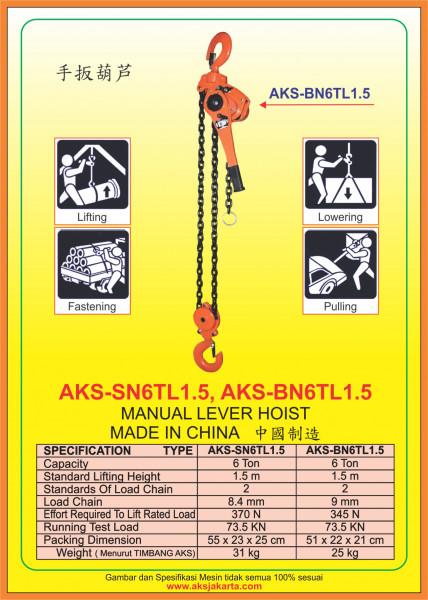 AKS - SN6TL1.5, AKS - BN6TL1.5