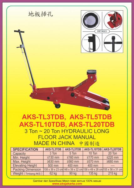 AKS - TL3TDB, AKS - TL5TDB, AKS - TL10TDB, AKS - TL20TDB