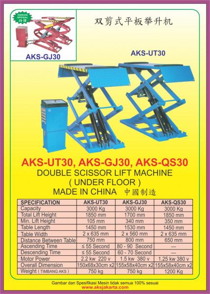 AKS - UT30, AKS - GJ30, AKS - QS30