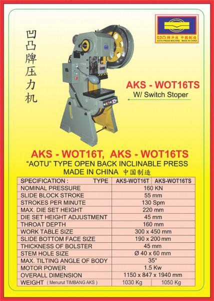 AKS - WOT16T, AKS - WOT16TS