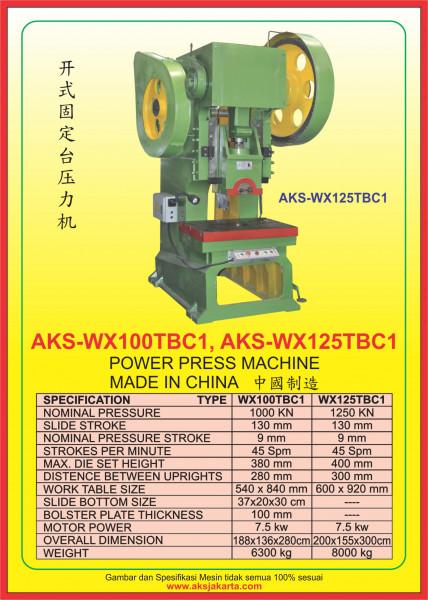 AKS - WX100TBC1, AKS - WX125TBC1