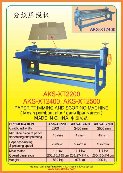 AKS - XT2200, AKS - XT2400, AKS - XT2500