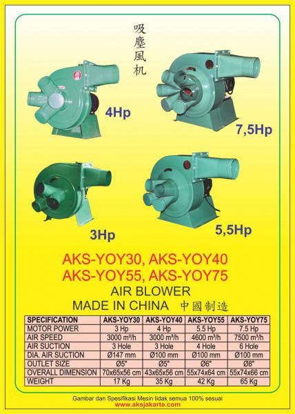 AKS - YOY30, AKS - YOY40, AKS - YOY55, AKS - YOY75