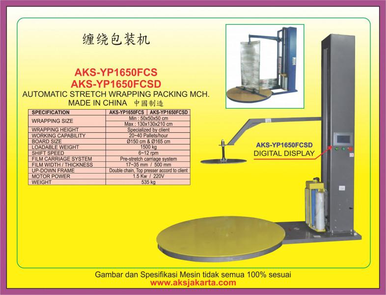 AKS - YP1650FCS, AKS - YP1650FCSD