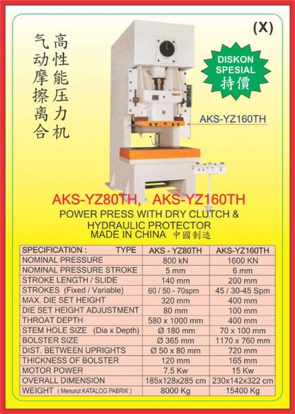 AKS - YZ80TH, AKS - YZ160TH