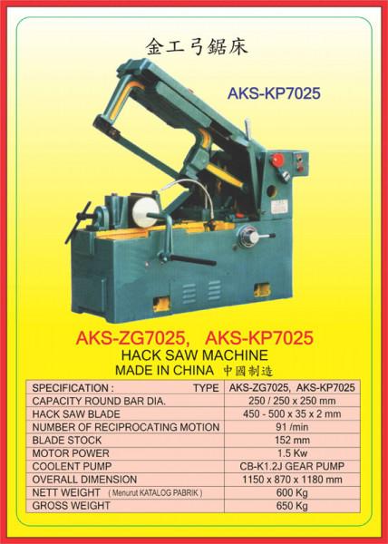 AKS - ZG7025, AKS - KP7025