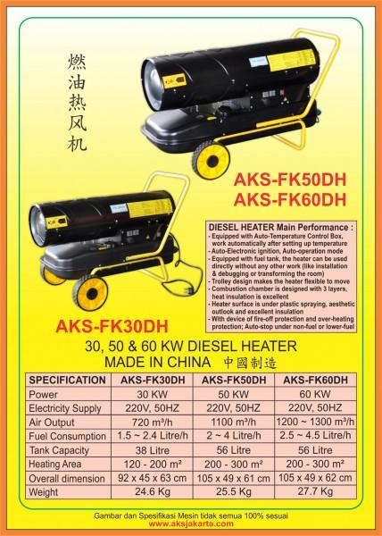 AKS-FK30DH, AKS-FK50DH, AKS-FK60DH