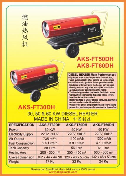 AKS-FT30DH, AKS-FT50DH, AKS-FT60DH