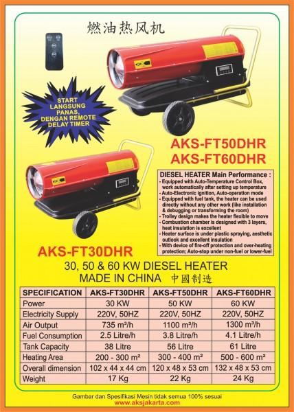 AKS - FT30DHR, AKS - FT50DHR, AKS - FT60DHR