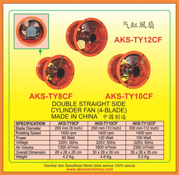 AKS - TY8CF, AKS - TY10CF, AKS - TY12CF